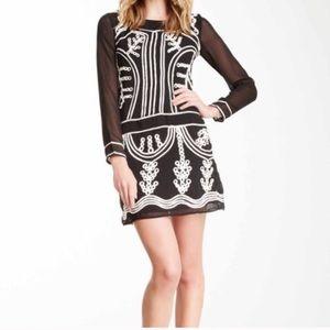 Gracia Black Mini Dress